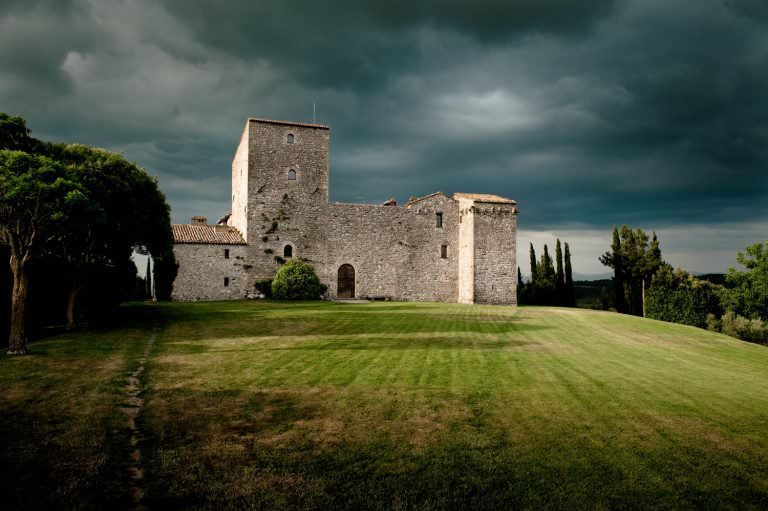 Todi Castle, a week in Umbria, Italy