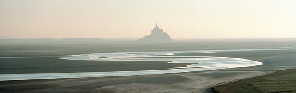 mont saint michel France mountain