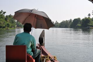 Kerala man on boat