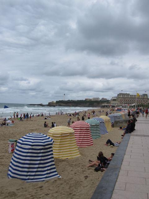 les landes beach