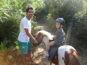 les landes horseback riding