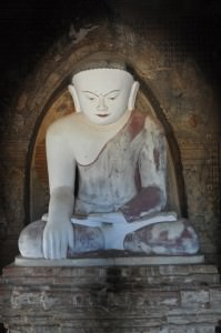 One of many Buddha statues in Burma