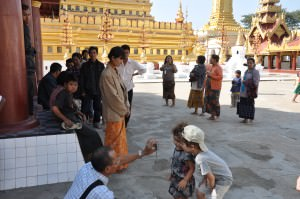 Photo shoot session, Burma