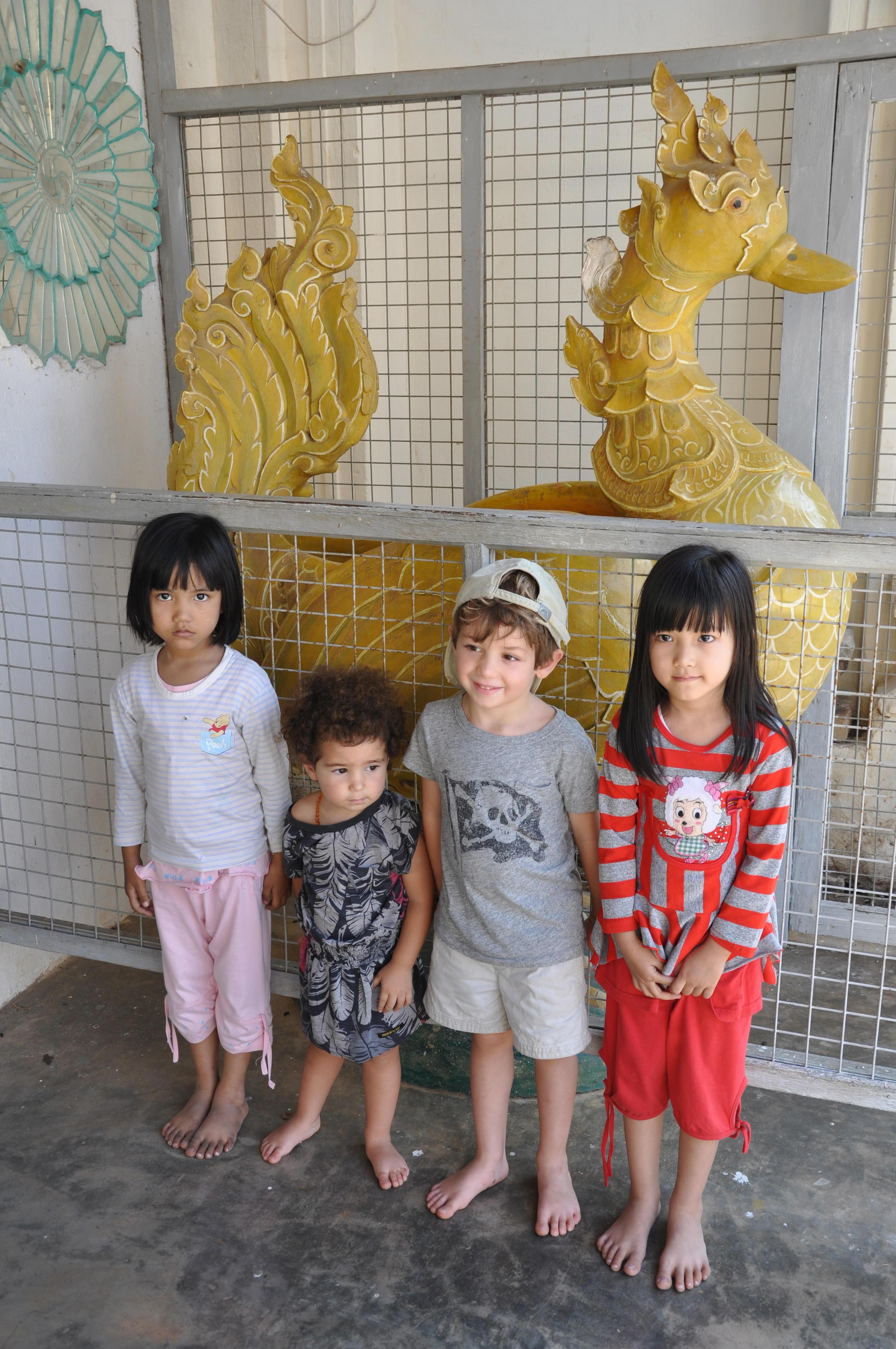 children in burma