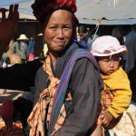 At the 5-day market near Heho airport, Burma