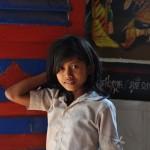 Cambodian girl smiling
