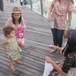 Amalya's photo shoot in Singapore