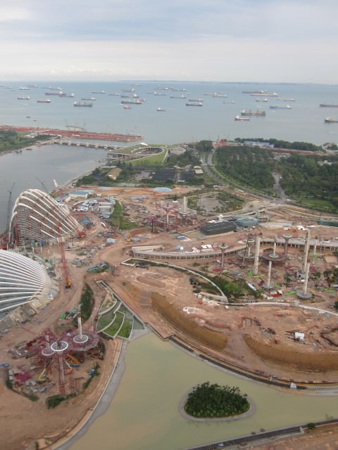 Non-stop construction in Singapore