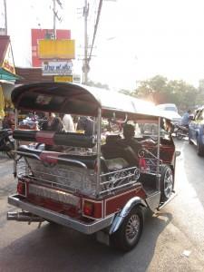 tuk tuk in Chiang mai thailand