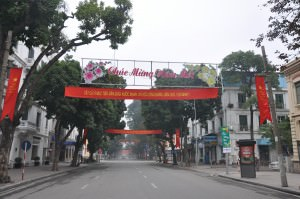 Hanoi Vietnam street