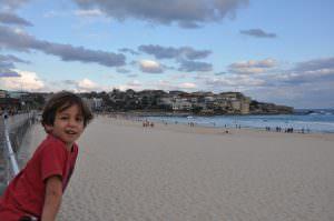 Marcelo on Bondi Beach, Sydney