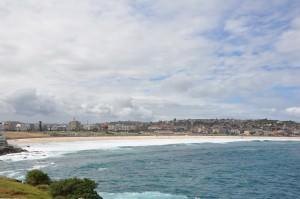 Bondi beach, Sydney in February