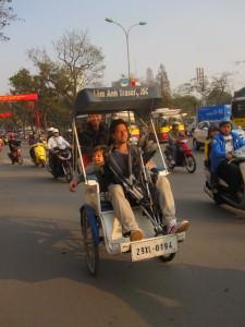 Hanoi cycle, Vietnam