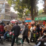 Hanoi frenziness before the Tet