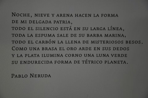 Pablo Neruda in spanish
