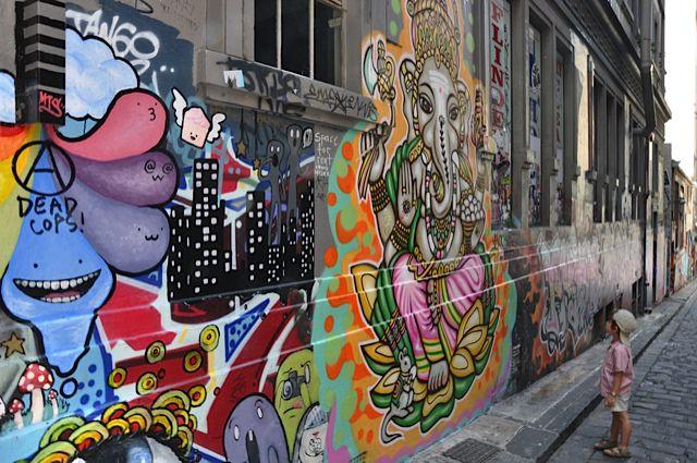 Melbourne is full of art & inspiration for the family