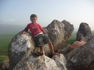 Zid zid. Zak at the mountains