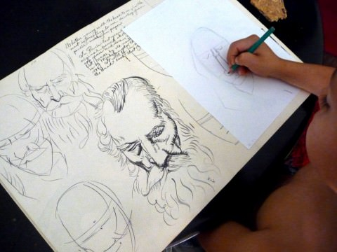 sketches in Marrakech