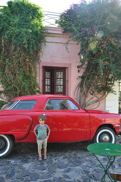 Retro times in Colonia, Uruguay: a perfect day trip from Buenos Aires
