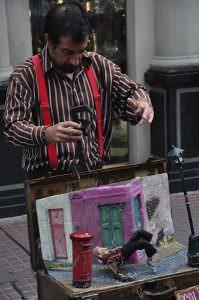 San Telmo street performer, Buenos Aires