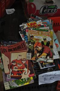 spanish comic books, san telmo market