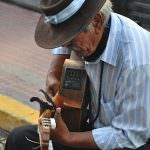 san Telmo characters, man with guitar