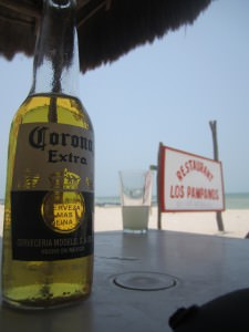 Tulum beach corona