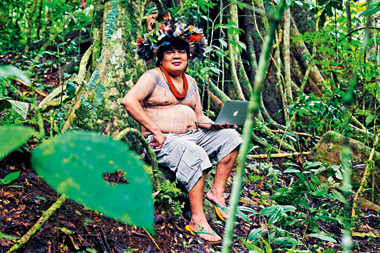 The story of the Indian Geek deep in the Brazilian Amazon