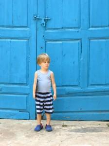 boy in Pondicherry India