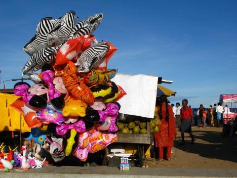Balloons in Pondicherry India