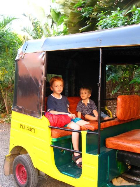 rickshaw in Pondicherry india