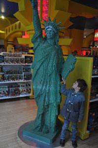 lego Statue at FAO