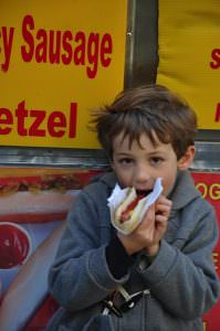 1st hot dog