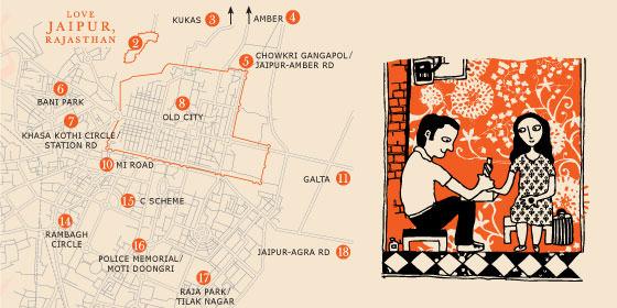 Jaipur_Map Love travel guides