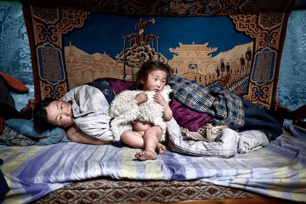 Mongolia, at dawn