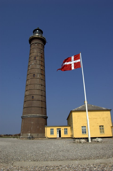 The lighthouse at Skagen Denmark