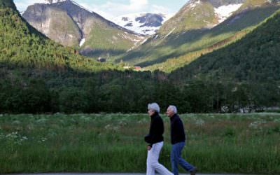 Show & tell with 70-Something on the Norwegian Fjords