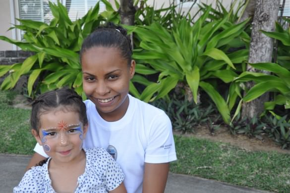 at La Residence, Mauritius