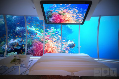 Room at the Water Discus hotel