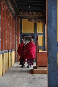 Life at the dzong