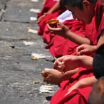 lunch with the monks