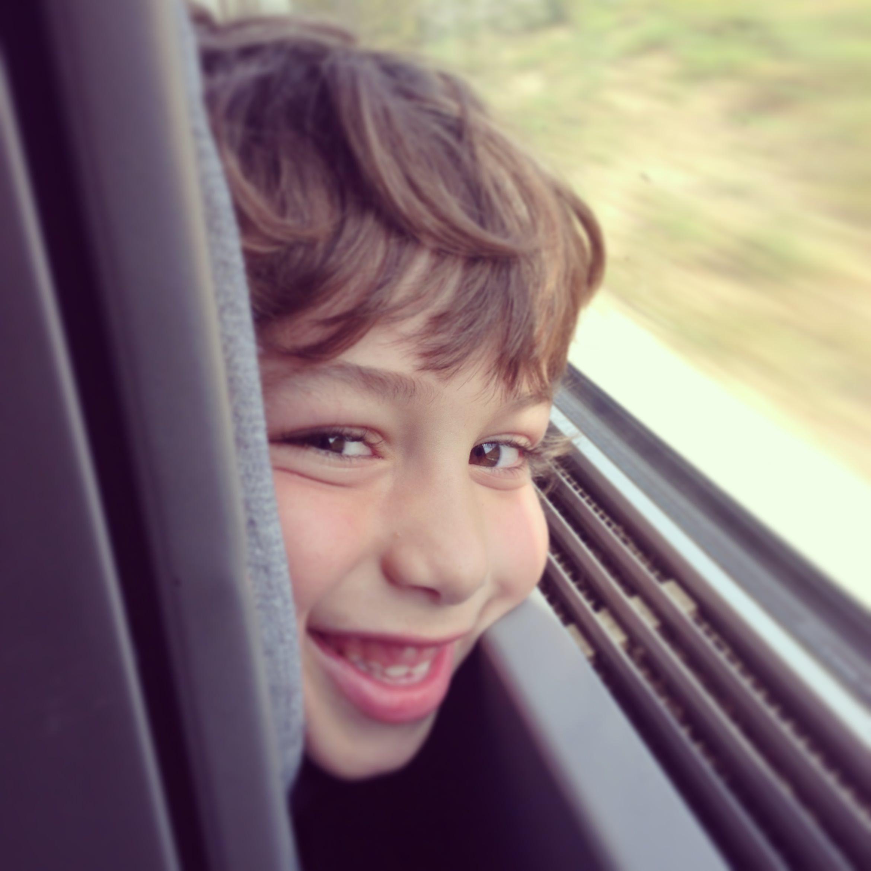 Marcelo in the Eurostar London-Avignon direct