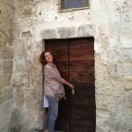 Our cave door