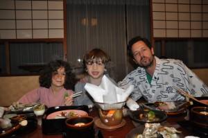 Family dinner, Japanese style
