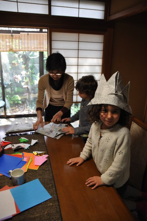 origami workshop in Japan