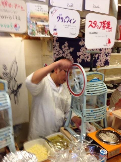 kakigori in Japan