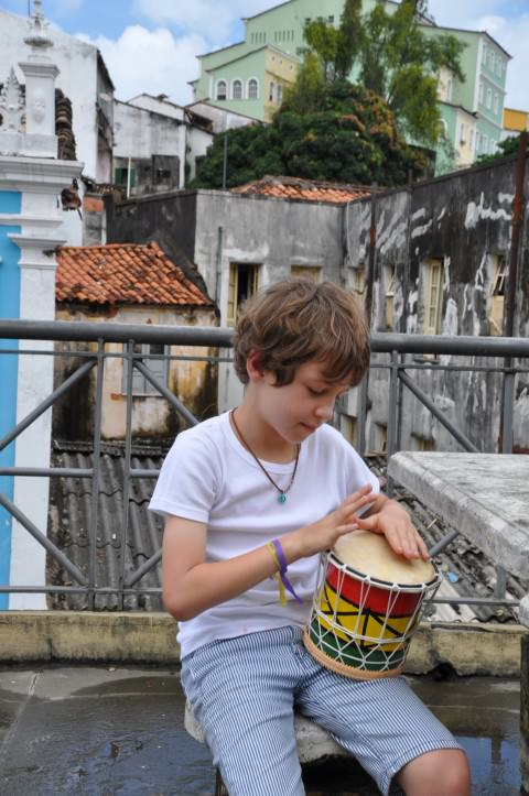 Pelourinho, in Salvador de Bahia