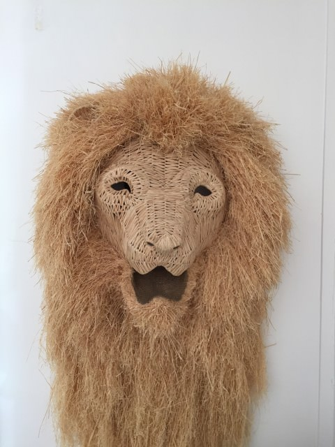 Lion's head at home