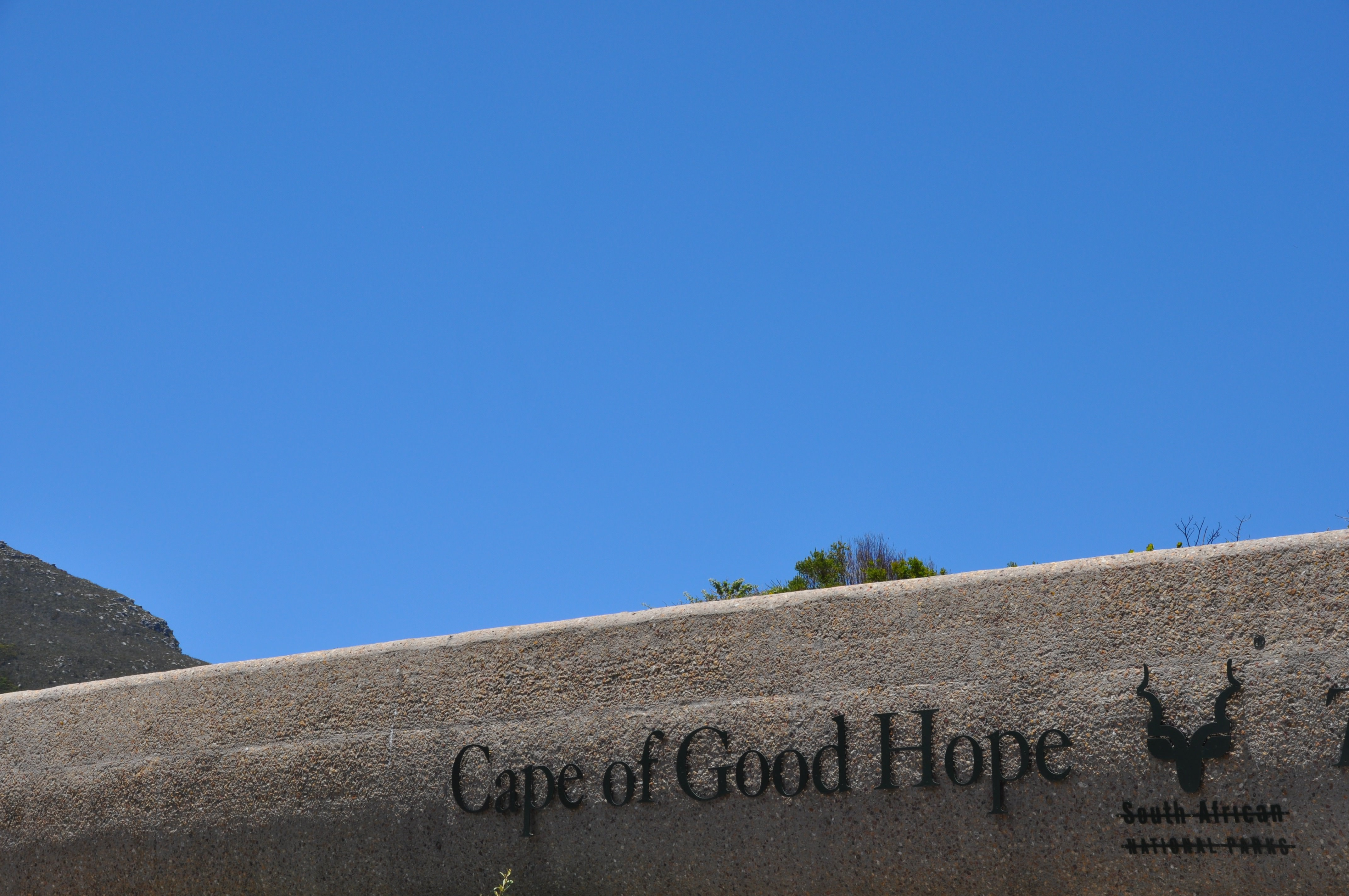 Entering the Cape of Good Hope