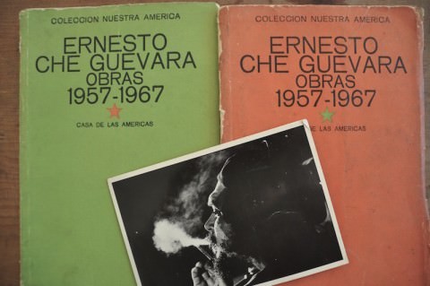 El Che and my old books